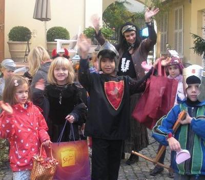 dzieci jako rycerze